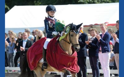 The Olympic future of dressage sport - youngest Pony triple European Champion so far